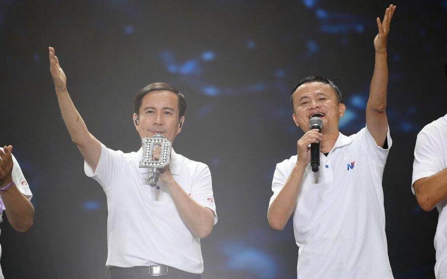 Danielis Zhangas ir Jackas Ma
