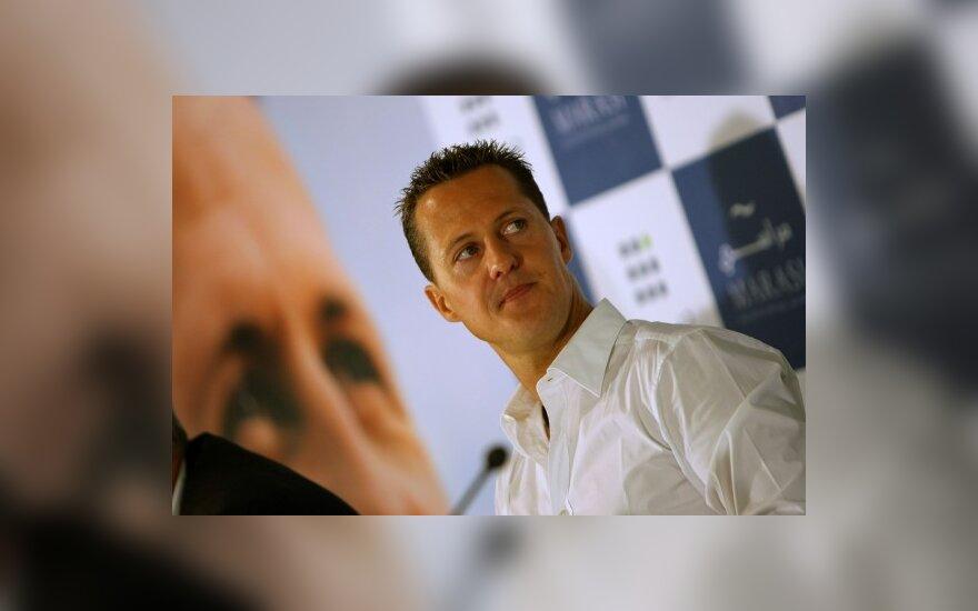 M.Schumacherį nustebino naujos taisyklės
