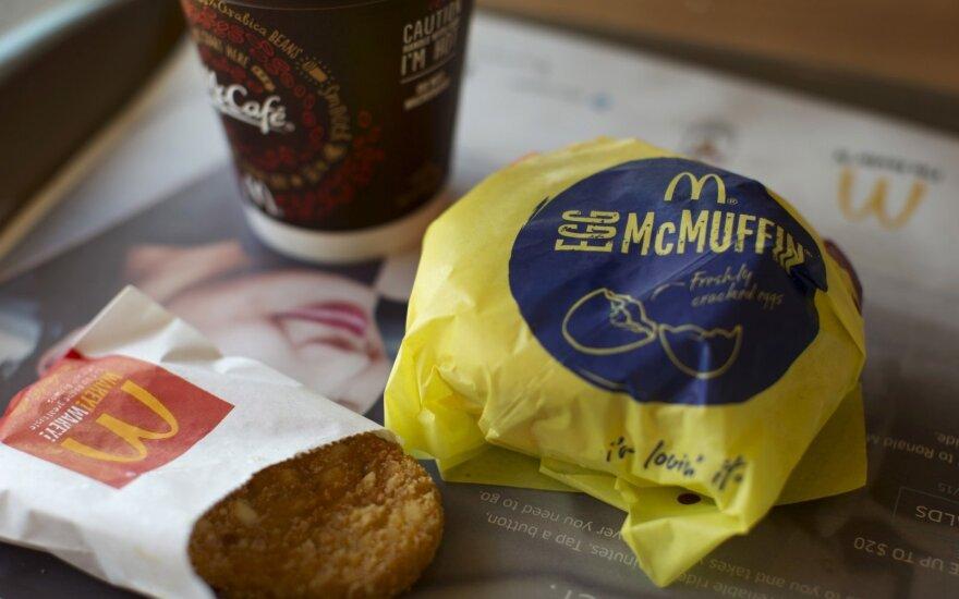McDonald's pusryčiai
