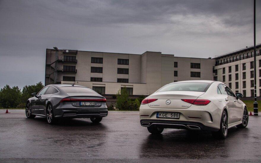 """""""Mercedes-Benz"""" prieš """"Audi"""": kuriems pavyko pagaminti geresnį GT? Aivaro Grigelevičiaus nuotr."""