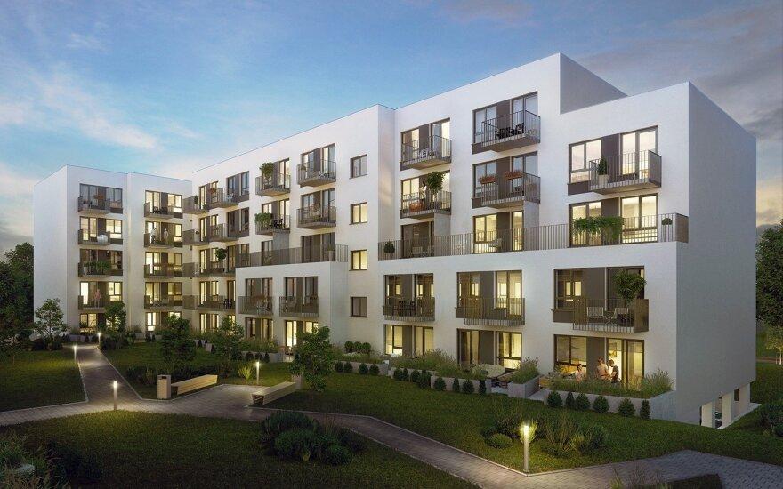 Ozo kvartale pradedamas naujas būstų projektas