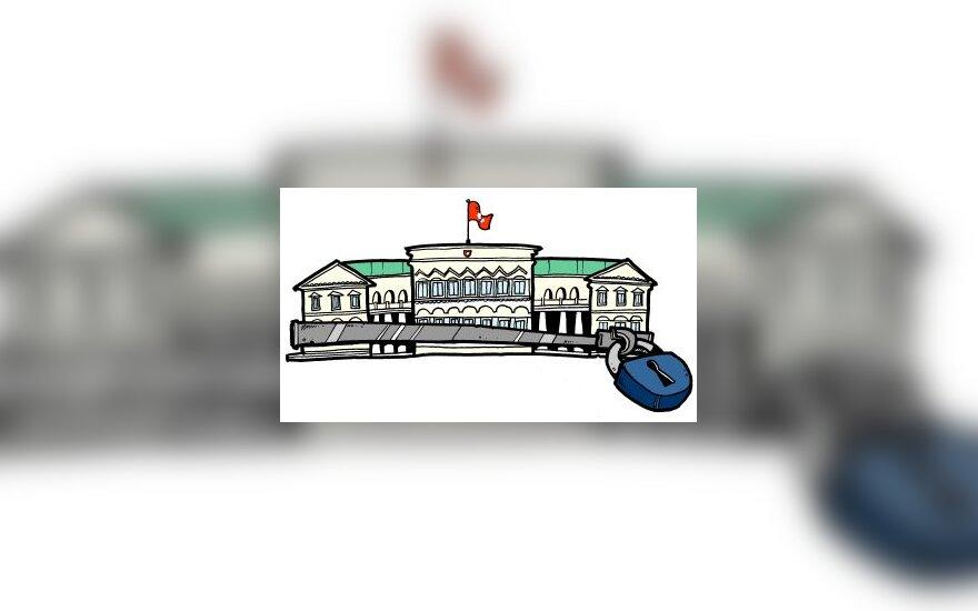 Prezidentūra - karikatūra
