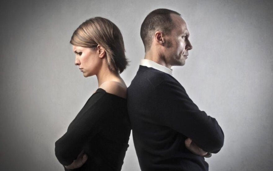 Teisinės žinios palengvins skyrybų procesą