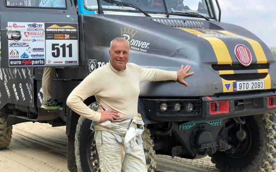 Vienintelio lietuviško sunkvežimių ekipažo Dakaro ralyje gali ir nebūti