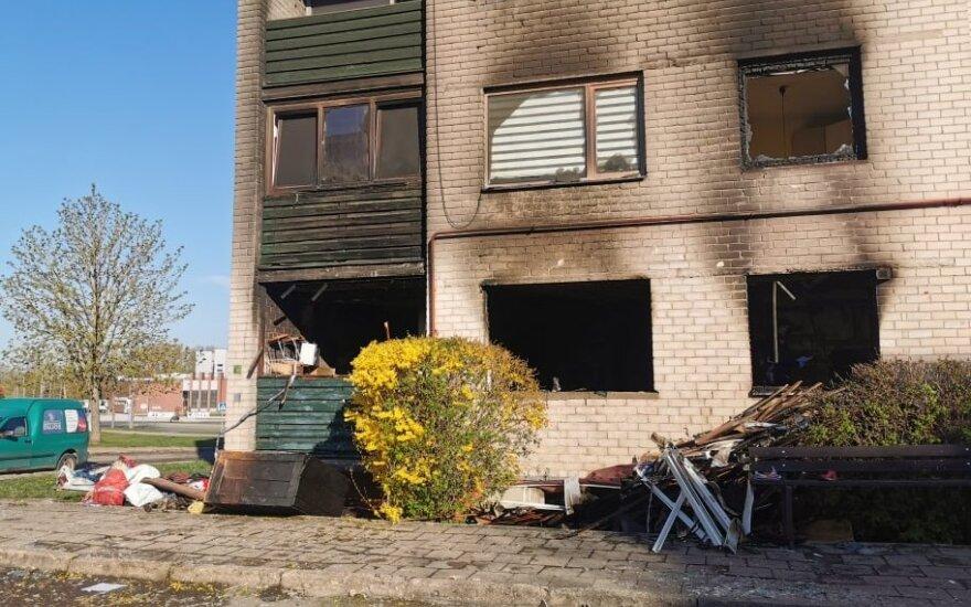 Košmaras Kupiškyje: naktį nugriaudėjo sprogimas