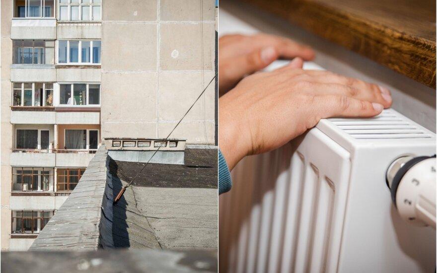 Nešylantys radiatoriai