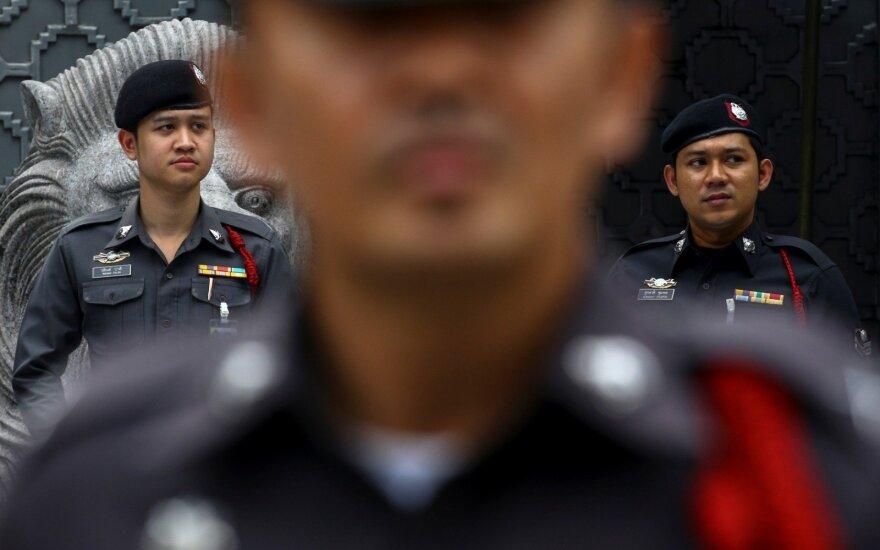 Saudo Arabijos pilietė išėjo iš Bankoko oro uosto viešbučio, kur buvo užsibarikadavusi