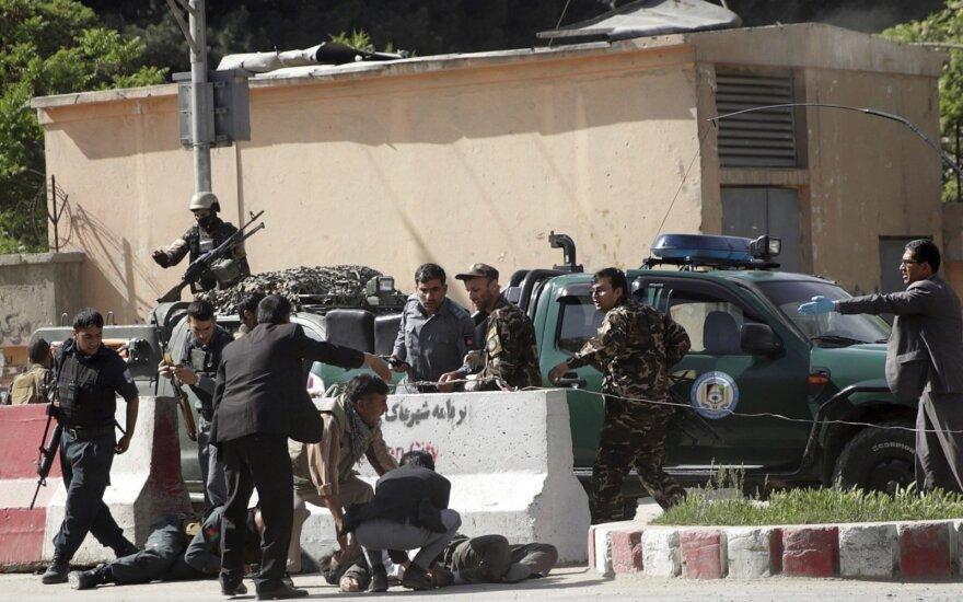 Dvigubo sprogdinimo Kabule aukų padaugėjo iki 21