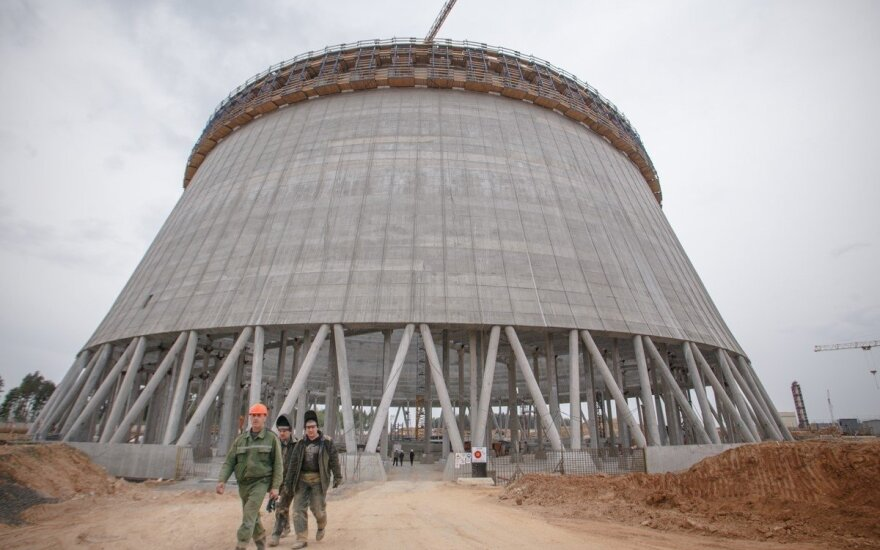Astravyets Nuclear Power Plant site