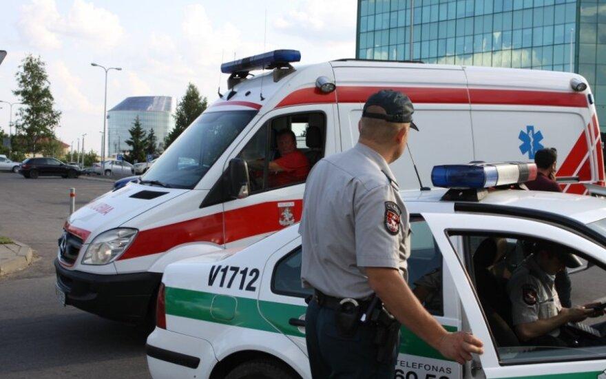 Perėjoje sužalota mergina paguldyta į reanimacijos skyrių