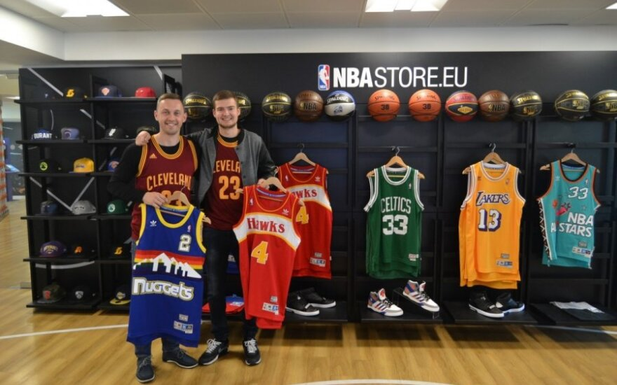 LSU studentai NBA Europos padalinyje Londone
