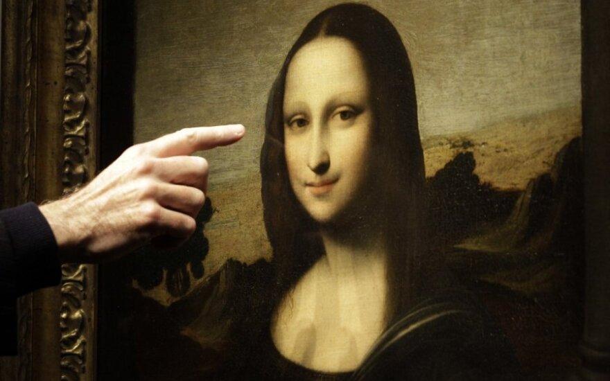 Jaunesnė ir laimingesnė Mona Liza - dar vienas Leonardo da Vinci portretas?