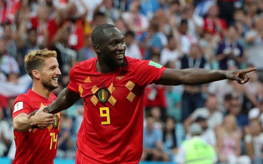 Pasaulio futbolo čempionatas: Belgija - Panama
