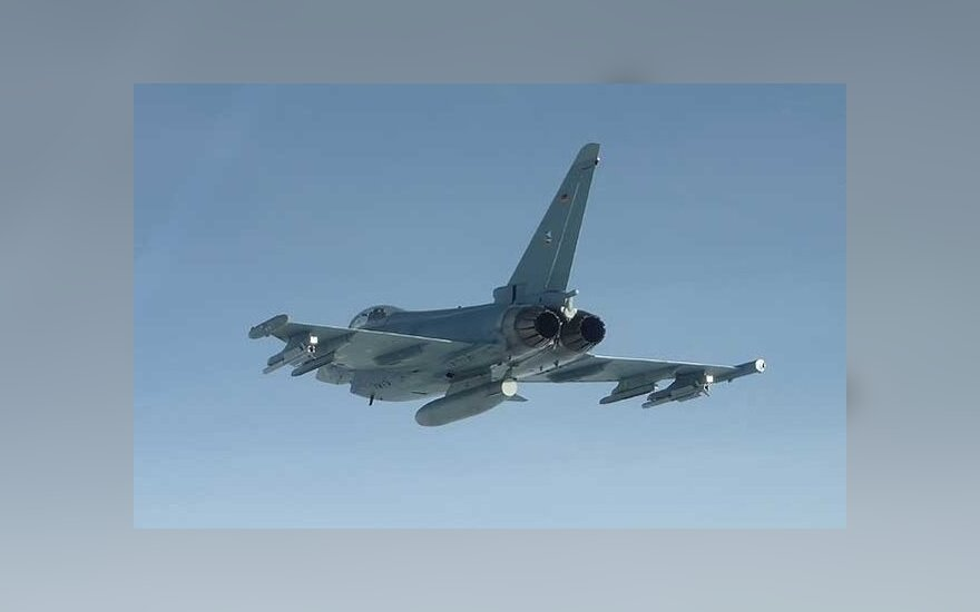 NATO air policing jets scrambled twice last week