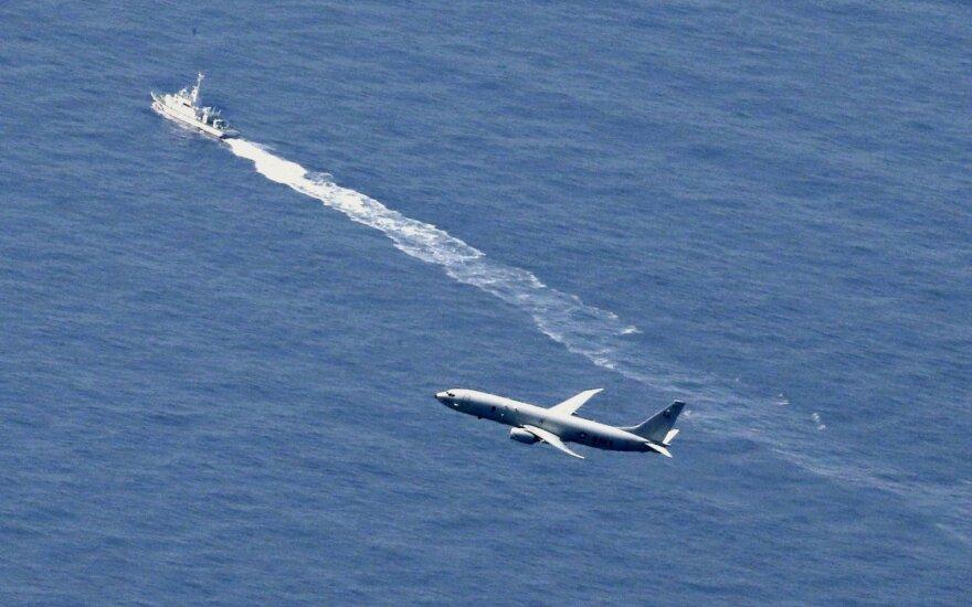Pagaliau rado Ramiajame vandenyne sudužusio modernaus naikintuvo F-35A nuolaužų