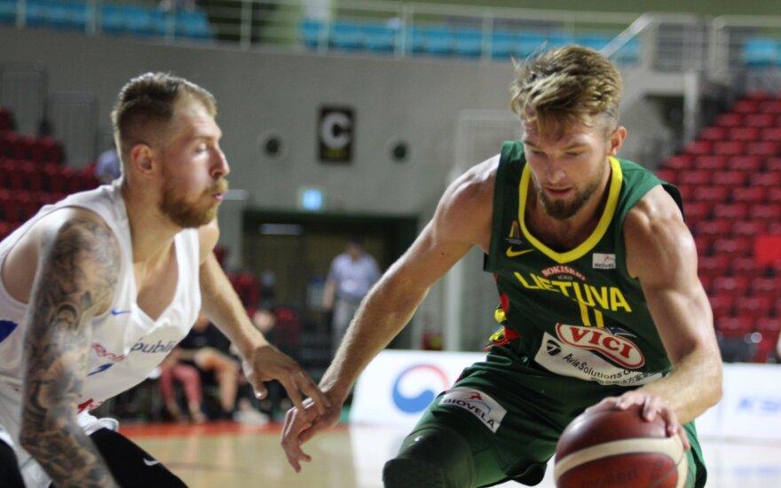 Kontrolinės rungtynės: Lietuva - Čekija