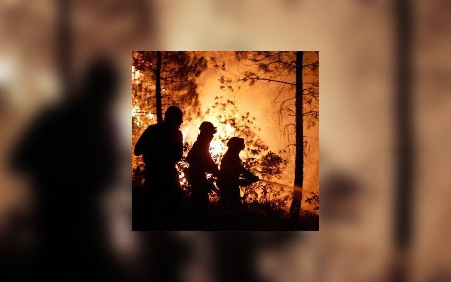 Rusijoje siaučia masiniai gaisrai