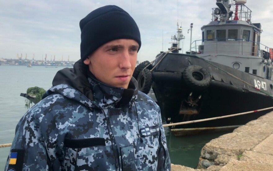 Ukrainos karys Kerčės uoste