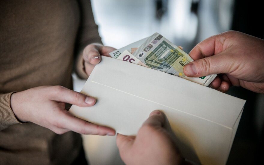 "Lithuania's 2019 budget to get around EUR 200 mln ""out of shadow"", finmin says"