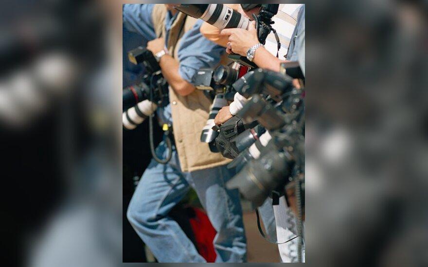 žurnalistai, media
