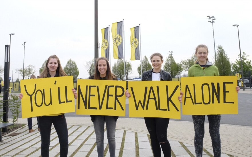 Dortmundo klubo sirgalės