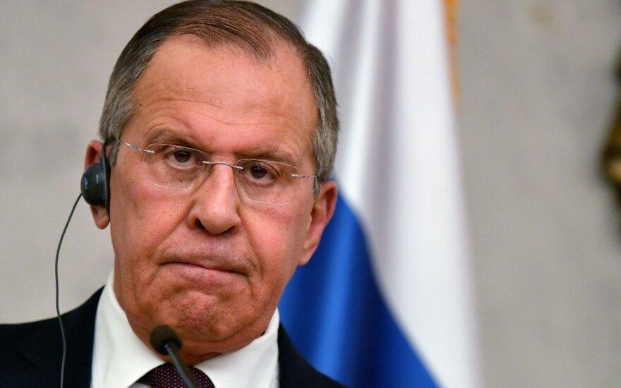 Lavrovas: Rusija nepasirašys Branduolinio ginklo uždraudimo sutarties