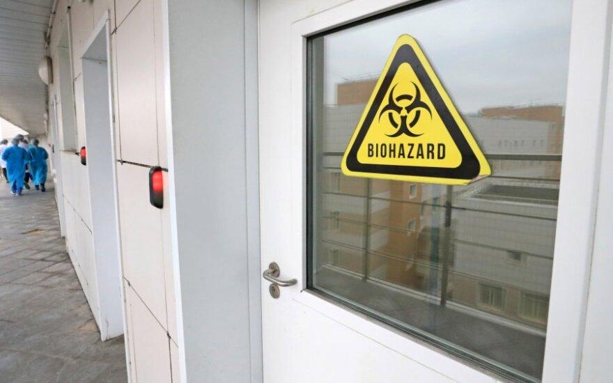 Nustatytas pirmasis užsikrėtimo koronavirusu atvejis ES agentūroje Briuselyje