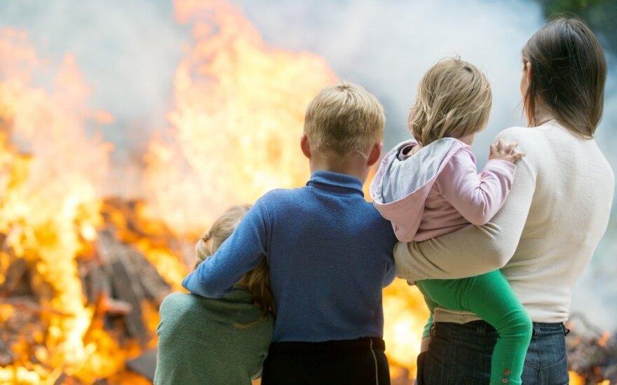 Kaip apsisaugoti nuo gaisro? Faktai, kurių nežinojote