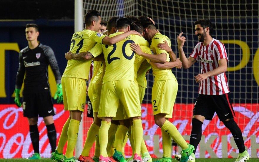 """Villarreal"" futbolininkai džiaugiasi"