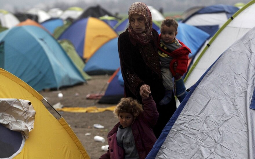 Second refugee family to be relocated to Lithuania