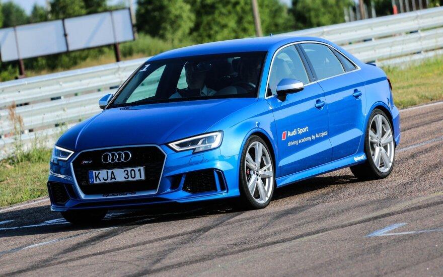 """""""Audi Sport"""" akademijos pristatymo renginys"""