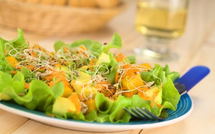 Vitaminingos salotos