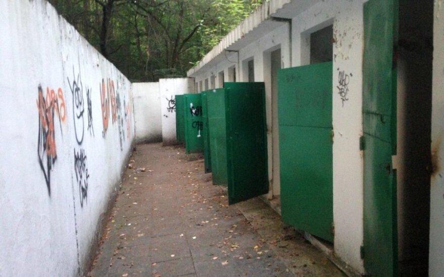 Vingio parke – tualeto paieškos