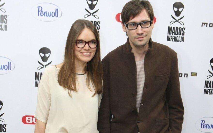 Einoras Kabašinskas su žmona Rūta