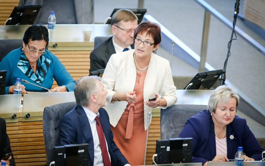 Birutė Vėsaitė and the Social Democrats in the Seimas