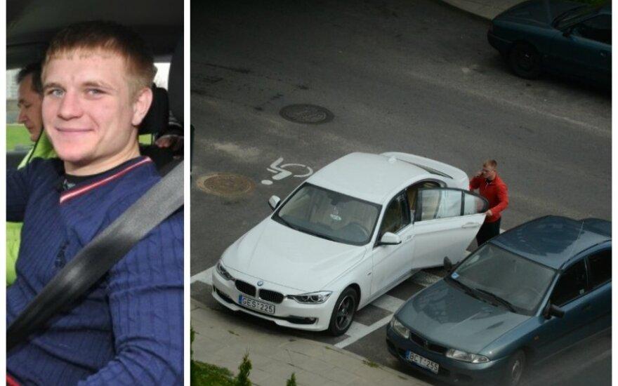 Boksininkas E. Petrauskas įkišo automobilį ten, kur nederėtų