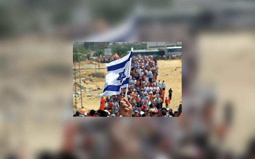 Žydų protestas, Izraelis, žydai