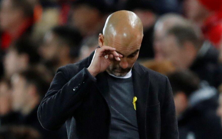 "Čempionų lygos ketvirtfinalis: ""Liverpool"" – ""Manchester City"""