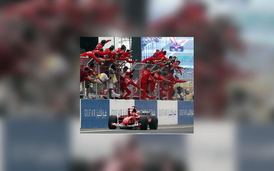 """""""Ferrari"""" pergalė"""