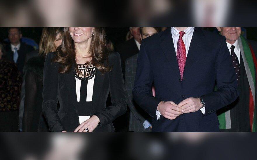Princas Williamas paprašė brolio būti jo vyriausiuoju pabroliu
