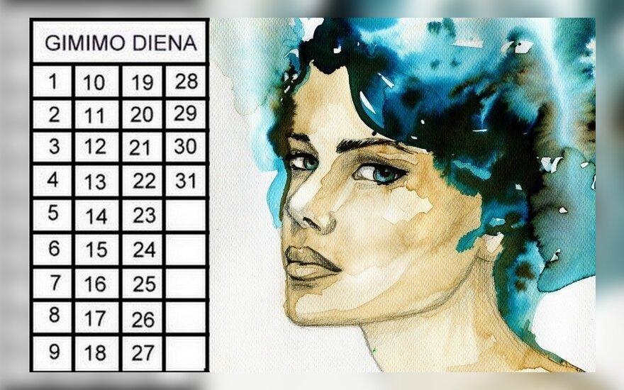 Gimimo dienos horoskopas: nuo šio skaičiaus priklauso labai daug kas
