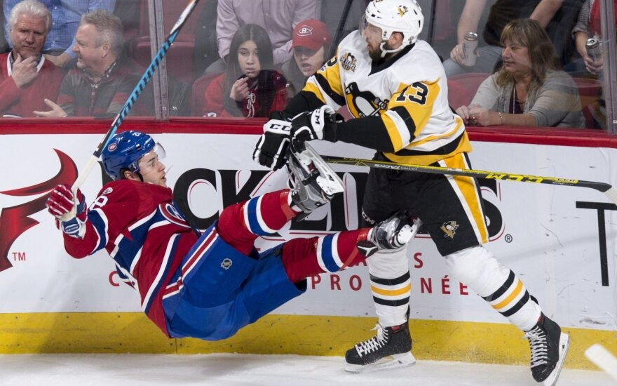 "NHL: ""Penguins"" - ""Canadiens"""