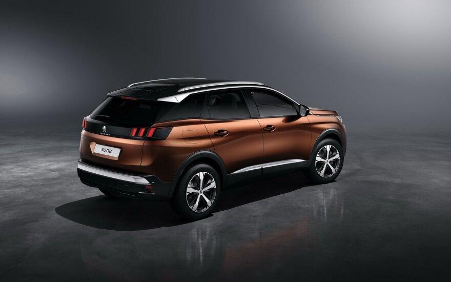 """Naujos kartos """"Peugeot 3008"""""""