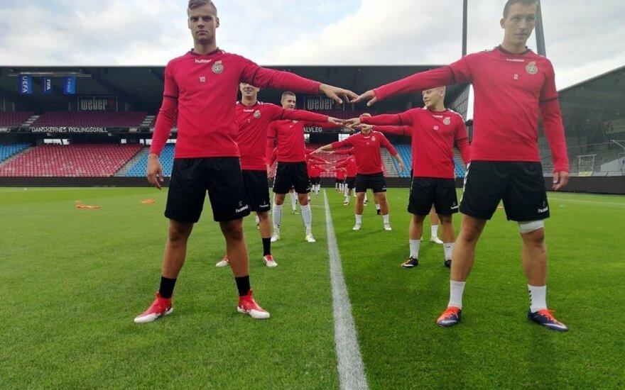 Lietuvos jaunimo U-21 futbolo rinktinė (LFF nuotr.)