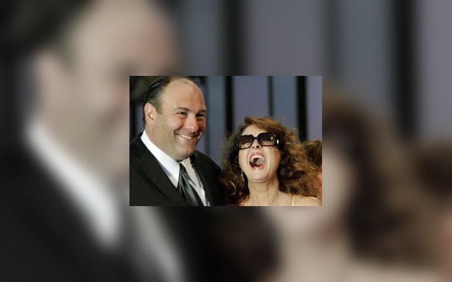 James Gandolfini ir Susan Sarandon