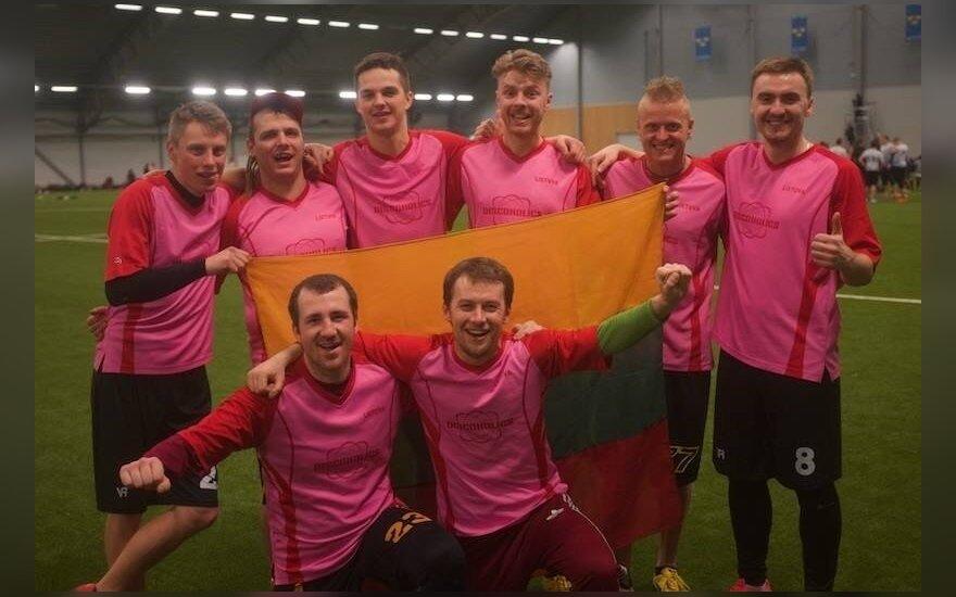 """Lėkščiasvydžio """"Discoholics"""" komanda iš Lietuvos"""