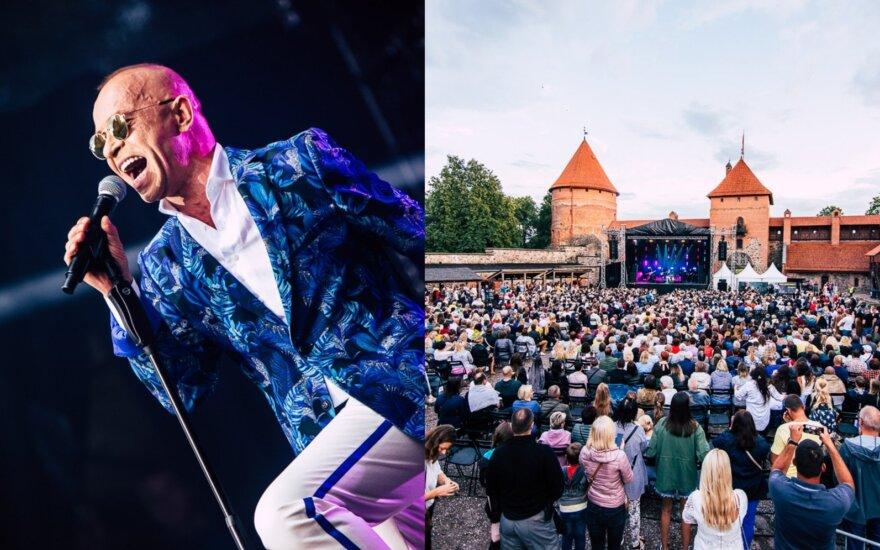Kastyčio Kerbedžio koncertas Trakų pilyje / Foto: Mantas Repečka