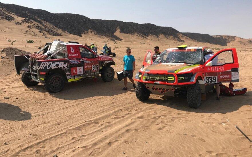 Avarija Dakare / Pauliaus Garkausko nuotr.