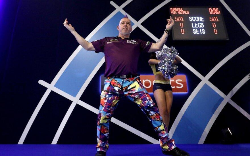 Labanauskas pralaimėjo ne čempionui: van Gerwenas finale neprilygo škotui