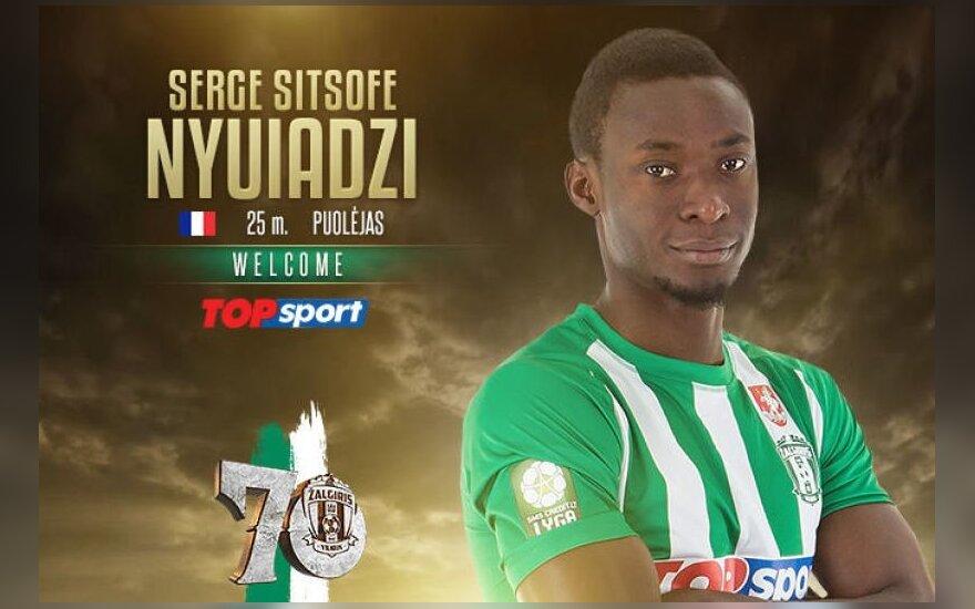 Serge'as Nyuiadzi / Foto: fkzalgiris.lt